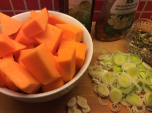 ingrediensenser gresskarsupper